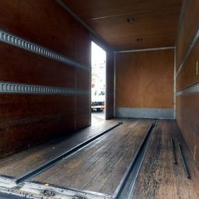 三菱キャンター ロングアルミバン c10 290x290