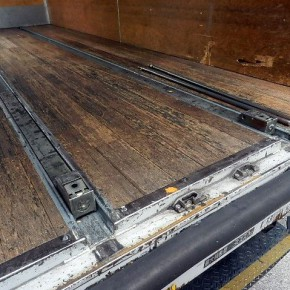 三菱キャンター ロングアルミバン c11 290x290