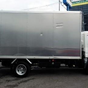 三菱キャンター ロングアルミバン c13 290x290