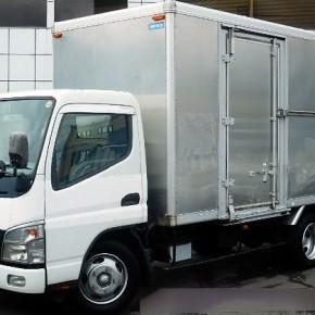 三菱キャンター ロングアルミバン c2 290x290