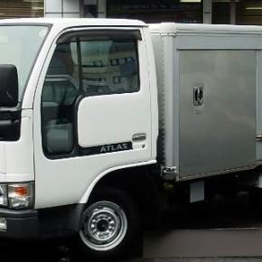 日産 アトラス 保冷バン 1.3トン ガソリン AT a1 290x290