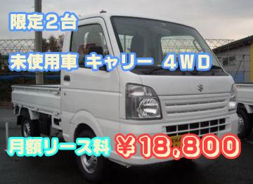 トラック バン 中古車リース carry1a