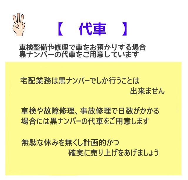 【 宅配車リース 】軽商用バン daisy1 1