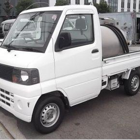 【 中古車リース 】軽トラ タンクローリー車 mini3 290x290