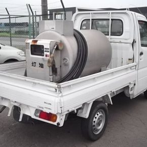 【 中古車リース 】軽トラ タンクローリー車 mini4 290x290
