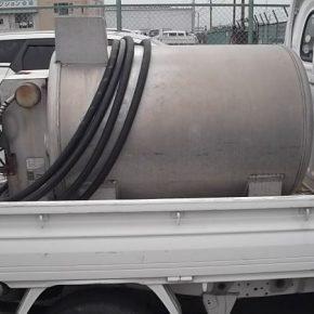 【 中古車リース 】軽トラ タンクローリー車 mini8 290x290