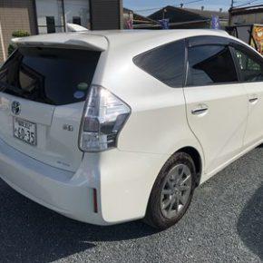 【 中古車リース 】営業車にハイブリッド プリウスアルファ  s IMG 0355 290x290