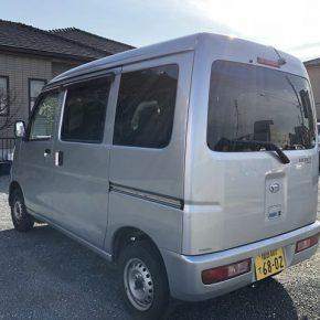 【 軽運送 宅配車リース 】ハイゼットカーゴ 架装済み s c2 290x290