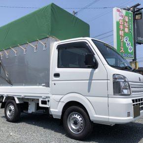 【 軽トラリース 】軽運送・宅配・営業車・幌 キャリートラック s c2 1 290x290