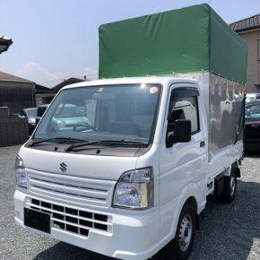 【 軽トラリース 】軽運送・宅配・営業車・幌 キャリートラック s c4 1 290x290
