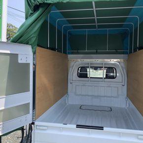 【 軽トラリース 】軽運送・宅配・営業車・幌 キャリートラック s c6c 290x290